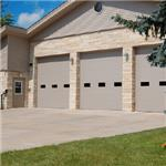C.H.I. Overhead Doors - Insulated Micro-Grooved Sandwich Sectional Doors