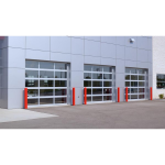 C.H.I. Overhead Doors - Aluminum Full-View Sectional Doors