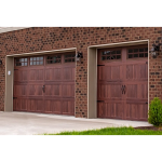 C.H.I. Overhead Doors - Accents Woodtones 5283 Garage Doors