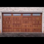 C.H.I. Overhead Doors - Accents Woodtones 5983 Garage Doors