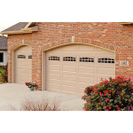 C.H.I. Overhead Doors - Raised Panel 4250 Garage Doors