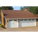 C.H.I. Overhead Doors - Stamped Carriage House 5916 Garage Doors