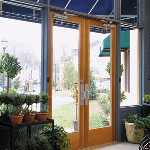 Pella Corporation - Architect Series® Commercial Entrance Doors - Wood and Aluminum Clad Wood