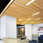 Armstrong World Industries, Inc. - WOODWORKS Grille: 7263BO - Wood Ceiling