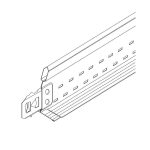Armstrong World Industries, Inc. - 72IN Cross Tee - Drywall Grid System: XL8965G90
