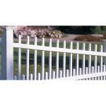 CertainTeed Bufftech - Canterbury Swoop Picket Fence