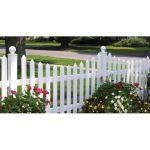 CertainTeed Bufftech - Cape Cod Concave Picket Fence
