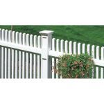 CertainTeed Bufftech - Manchester Classic Impressions Posts Picket Fence