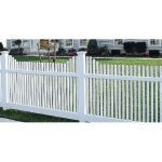 CertainTeed Bufftech - Manchester Concave Picket Fence