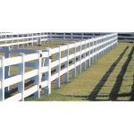 CertainTeed Bufftech - 3-Rail Post & Rail Fence (Smooth Finish)