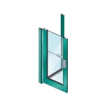 "EFCO - 2"" ThermaStile™ Aluminum Swing Entrance Doors - Series D202, D302, D502 (TS)"