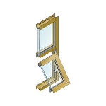 """EFCO - 2 7/16"""" Heavy Commercial Projected/Fixed Windows - Series 510 (T)"""