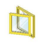 """EFCO - 2"""" Heavy Commercial Projected / Fixed Windows - Series 2600, 2700"""