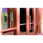 "EFCO - 2"" DuraStile™ Heavy-Duty Aluminum Entrance Doors - Series D318, D518, D618"