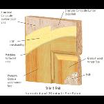 VT Industries, Inc. Architectural Wood Doors - Heritage Collection Sitle and Rail Wood Veneer Doors
