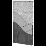 VT Industries, Inc. Architectural Wood Doors - 5508H Crossbanded Structural Composite Lumber Core Flush Wood Veneer Door