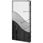 VT Industries, Inc. Architectural Wood Doors - 5545H Crossbanded Mineral Core Flush Wood Veneer Door