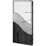 VT Industries, Inc. Architectural Wood Doors - 5P45H Crossbanded Mineral Core Flush Wood Veneer Door