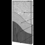 VT Industries, Inc. Architectural Wood Doors - 5511H Crossbanded Mineral Core Flush Wood Veneer Door