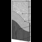 VT Industries, Inc. Architectural Wood Doors - 5P09H Agrifiber Core Flush Wood Veneer Door
