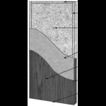 VT Industries, Inc. Architectural Wood Doors - 5509H Agrifiber Core Flush Wood Veneer Door