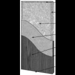 VT Industries, Inc. Architectural Wood Doors - 1P40H SR-20PP-HPDL Crossbanded Sound Core High Pressure Decorative Laminate Doors