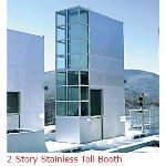 B.I.G. Enterprises, Inc - 2-Story Stainless Toll Booth