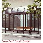 B.I.G. Enterprises, Inc - Dome Roof Transit Shelter