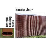 "PrivacyLink - Chain Link Fence with ""Factory Inserted Slats""™ - Noodle Link™ (2"" Mesh Semi-Privacy)"