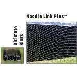 "PrivacyLink - Chain Link Fence with ""Factory Inserted Slats""™ - Noodle Link Plus™ (2"" Mesh - Near Total Privacy)"