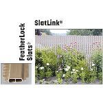 "PrivacyLink - Chain Link Fence with ""Factory Inserted Slats""™ - Slatlink® (2"" Mesh - Near Total Privacy)"