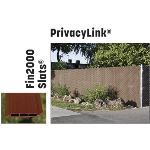 "PrivacyLink - Chain Link Fence with ""Factory Inserted Slats""™ - Privacylink® (3 1/2""X5"" Mesh - Near Total Privacy)"