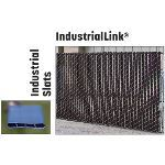 "PrivacyLink - Chain Link Fence with ""Factory Inserted Slats""™ - Industriallink® (3 1/2"" X 5"" Mesh - Semi Privacy)"