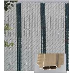 PrivacyLink - Decorative Chain Link Fence Privacy Slats - Featherlock® Slats
