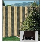 PrivacyLink - Decorative Chain Link Fence Privacy Slats - FinLink Slats®