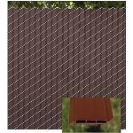 PrivacyLink - Decorative Chain Link Fence Privacy Slats - Fin2000 Slats (patented)