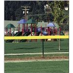 PrivacyLink - Decorative Chain Link Fence Privacy Slats - Safety Top Cap™