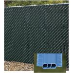 PrivacyLink - Decorative Chain Link Fence Privacy Slats - Winged® Slats