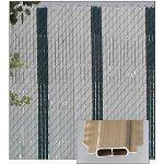 PrivacyLink - Decorative Chain Link Fence Privacy Slats - FeatherLock® Slats