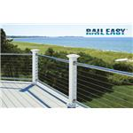 Atlantis Rail Systems - RailEasy™ Nautilus Cable Railing with Stainless Rails