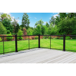 Atlantis Rail Systems - NOVA Cable Railing: Cable Railing with Aluminum Posts