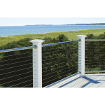 Atlantis Rail Systems - RailEasy™ Nautilus - Cable Railing with Stainless Rails