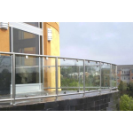 Atlantis Rail Systems - SunRail™ Glass - Glass Railing with Stainless Steel Modular Frame