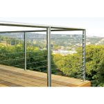 Atlantis Rail Systems - SunRail™ Nautilus - Stainless Steel Railing with Cable Infill Option