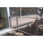 Atlantis Rail Systems - SunRail™ Gate - Stainless Steel Gates