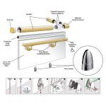 Morse Architectural - Floor Clamp Railing System