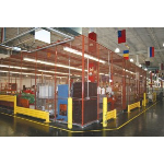 Acorn Wire and Iron Works - No. 130A Standard-Duty Wire Mesh Partition