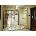 Acorn Wire and Iron Works - Bostwick Series 5761D Shallow Cabinet Double Gates