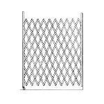 Acorn Wire and Iron Works - Lazy Tong Series 5654 Single Loading Dock Gate