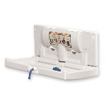 World Dryer - DryBaby™ ABC-300H Horizontal Polyethylene Baby Changing Station
